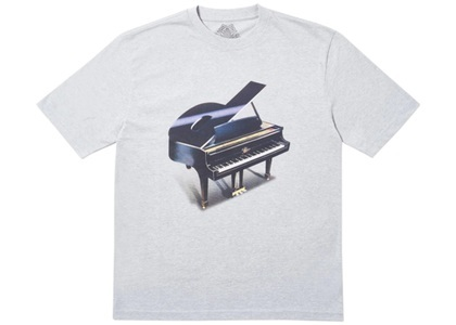 Palace Grand T-Shirt Grey Marl  (FW19)の写真