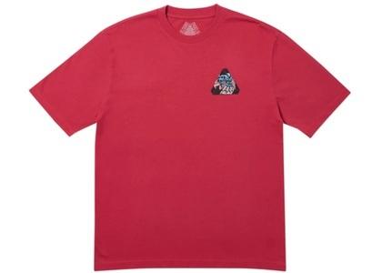 Palace Ripped T-Shirt Dark Red  (FW19)の写真