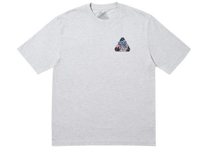 Palace Ripped T-Shirt Grey Marl  (FW19)の写真