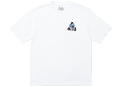 Palace Ripped T-Shirt White  (FW19)の写真