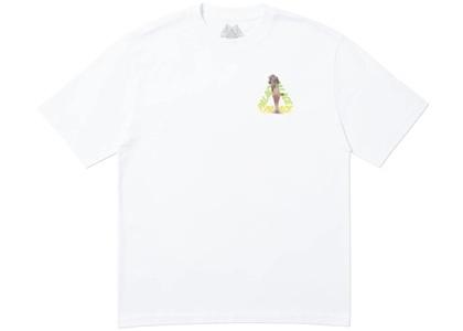 Palace Rolls P3 T-Shirt White  (FW19)の写真