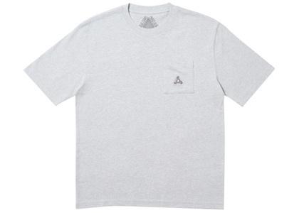 Palace Sofar Pocket T-Shirt Grey Marl  (FW19)の写真