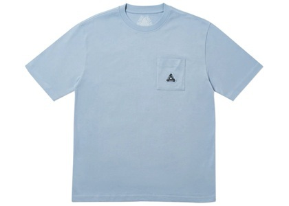 Palace Sofar Pocket T-Shirt Mid Blue  (FW19)の写真