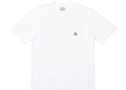 Palace Sofar Pocket T-Shirt White  (FW19)の写真