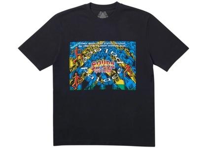 Palace Sound Mate T-Shirt Black  (FW19)の写真