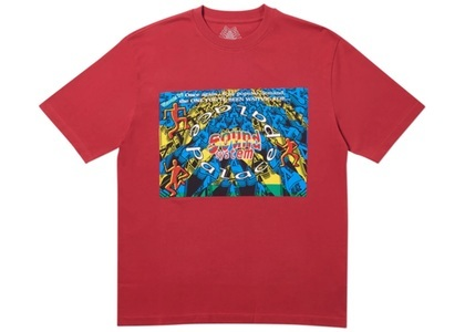 Palace Sound Mate T-Shirt Dark Red  (FW19)の写真