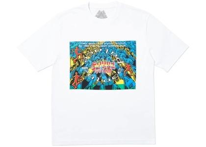 Palace Sound Mate T-Shirt White  (FW19)の写真
