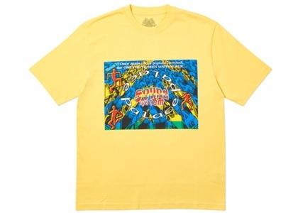 Palace Sound Mate T-Shirt Yellow  (FW19)の写真