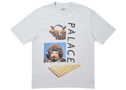 Palace Tactic T-Shirt Grey Marl  (FW19)の写真