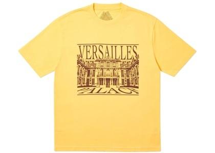 Palace Versailles T-Shirt Yellow  (FW19)の写真