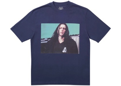Palace Wise Up T-Shirt Navy  (FW19)の写真