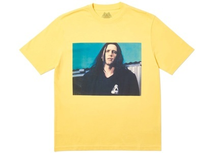 Palace Wise Up T-Shirt Yellow  (FW19)の写真
