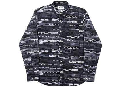 Palace 3000 Shirt Black  (FW19)の写真