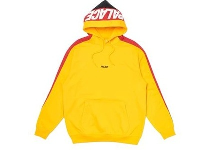 Palace Catch Up Hood Yellow/Red  (FW19)の写真