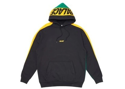 Palace Catch Up Hoodie Yellow/Green  (FW19)の写真