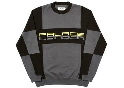 Palace Cut Mit Sew Crewneck Off Black  (FW19)の写真