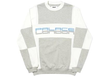 Palace Cut Mit Sew Crewneck Off White  (FW19)の写真