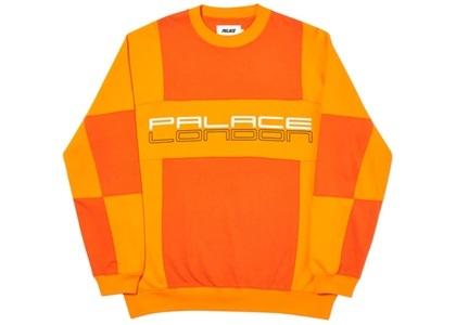 Palace Cut Mit Sew Crewneck Orange  (FW19)の写真