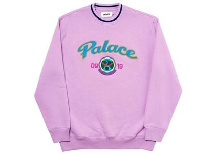Palace Hi-Sport Crew Purple  (FW19)の写真