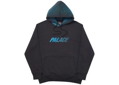 Palace Laser Lines Hood Black  (FW19)の写真