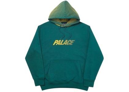 Palace Laser Lines Hood Dark Green  (FW19)の写真