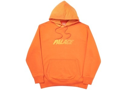 Palace Laser Lines Hood Orange  (FW19)の写真