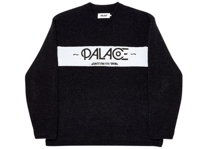 Palace Obsission Knit Black  (FW19)の写真