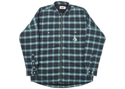 Palace Quacked Shirt Turquoise  (FW19)の写真