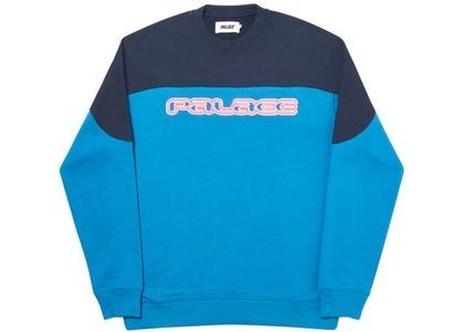 Palace Strange But Some People Might Like It Crew Blue  (FW19)の写真