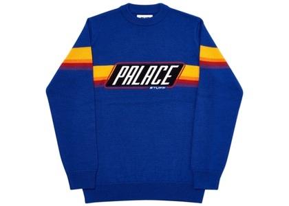 Palace Stuff Knit Blue  (FW19)の写真
