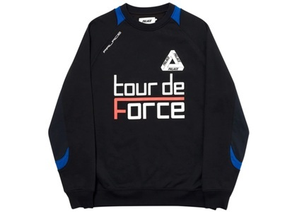 Palace Tour de Force Crew Black  (FW19)の写真