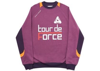 Palace Tour de Force Crew Purple  (FW19)の写真