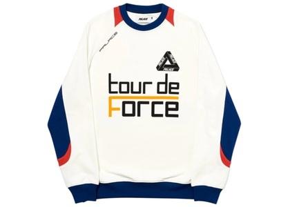 Palace Tour de Force Crew White  (FW19)の写真