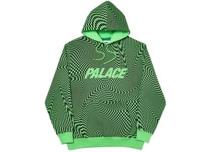 Palace Vertigo Hood Green  (FW19)の写真