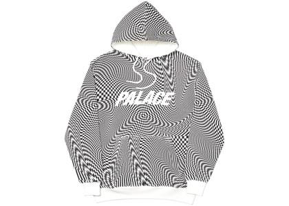 Palace Vertigo Hood White  (FW19)の写真
