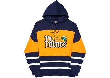 Palace Zero Zero Hood Navy/Orange  (FW19)の写真