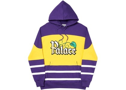 Palace Zero Zero Hood Purple/Yellow  (FW19)の写真