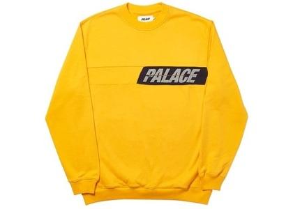 Palace Zip It Crew Yellow  (FW19)の写真