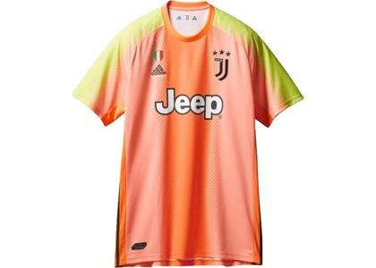 Palace Adidas Palace Juventus Authentic Buffon 77 Match Jersey Orange/Slime  (FW19)の写真