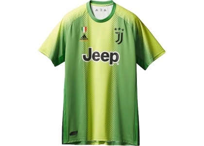 Palace Adidas Palace Juventus Authentic Szczesny 1 Match Jersey Slime/Green  (FW19)の写真
