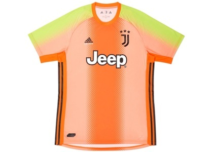 Palace Adidas Palace Juventus Fourth Goalkeeper Jersey Orange/Slime  (FW19)の写真