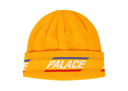 Palace 360 Beanie Yellow  (FW19)の写真