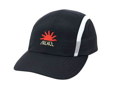 Palace A2 Shell Running Hat Black  (FW19)の写真