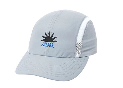 Palace A2 Shell Running Hat Grey  (FW19)の写真