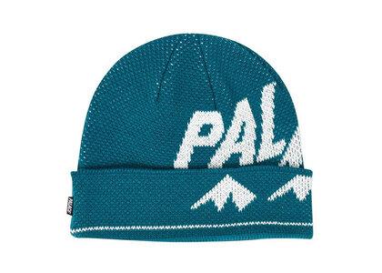 Palace Alpine Beanie Turquoise  (FW19)の写真