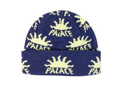 Palace AZ Beanie Navy  (FW19)の写真