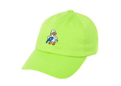 Palace Duck Out 6-Panel Lime  (FW19)の写真