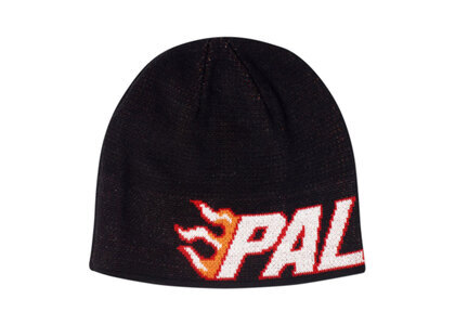 Palace Flame-Grill Beanie Black  (FW19)の写真