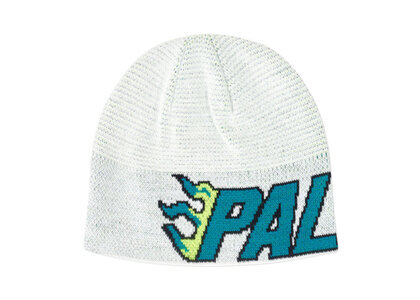 Palace Flame-Grill Beanie White  (FW19)の写真