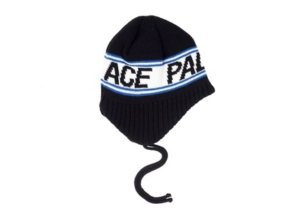 Palace Flap About Beanie Black  (FW19)の写真